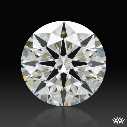 0.667 ct J SI1 A CUT ABOVE® Hearts and Arrows Super Ideal Round Cut Loose Diamond