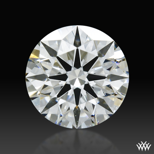 0.663 ct G SI1 A CUT ABOVE® Hearts and Arrows Super Ideal Round Cut Loose Diamond