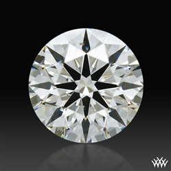 0.651 ct I SI1 A CUT ABOVE® Hearts and Arrows Super Ideal Round Cut Loose Diamond