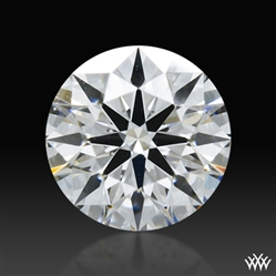 0.651 ct D VVS2 A CUT ABOVE® Hearts and Arrows Super Ideal Round Cut Loose Diamond