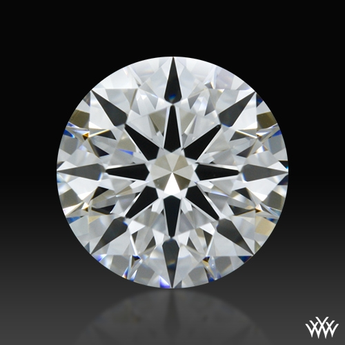 0.737 ct E VVS1 A CUT ABOVE® Hearts and Arrows Super Ideal Round Cut Loose Diamond