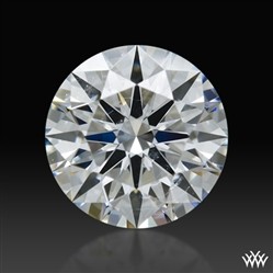 0.723 ct F SI1 Expert Selection Round Cut Loose Diamond