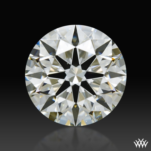 1.015 ct J VS2 A CUT ABOVE® Hearts and Arrows Super Ideal Round Cut Loose Diamond