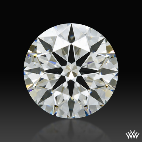 1.343 ct I VS2 A CUT ABOVE® Hearts and Arrows Super Ideal Round Cut Loose Diamond