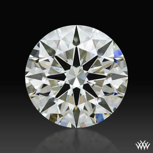 1.502 ct J VS1 A CUT ABOVE® Hearts and Arrows Super Ideal Round Cut Loose Diamond