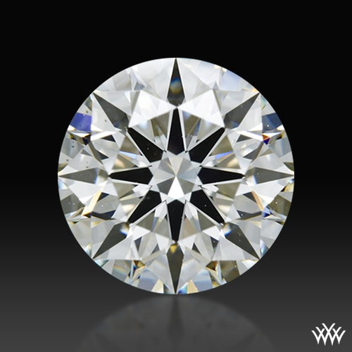 1.57 ct J VS2 A CUT ABOVE® Hearts and Arrows Super Ideal Round Cut Loose Diamond