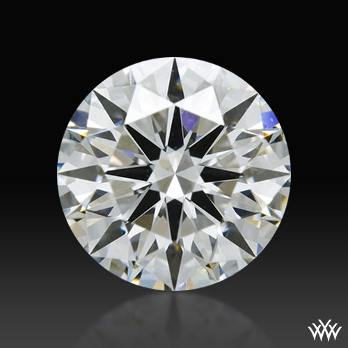 1.021 ct H VS2 A CUT ABOVE® Hearts and Arrows Super Ideal Round Cut Loose Diamond