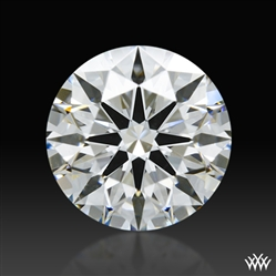 1.26 ct F VS1 A CUT ABOVE® Hearts and Arrows Super Ideal Round Cut Loose Diamond