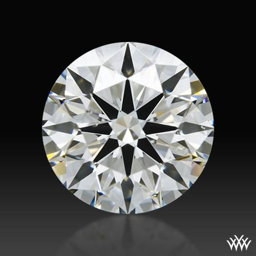 1.267 ct H SI1 A CUT ABOVE® Hearts and Arrows Super Ideal Round Cut Loose Diamond
