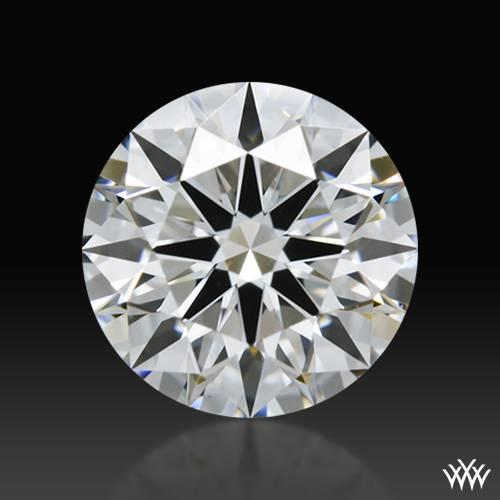 0.887 ct F VS1 A CUT ABOVE® Hearts and Arrows Super Ideal Round Cut Loose Diamond