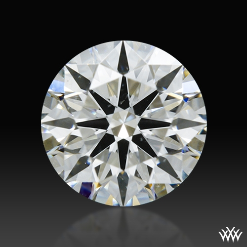 0.89 ct H SI1 A CUT ABOVE® Hearts and Arrows Super Ideal Round Cut Loose Diamond