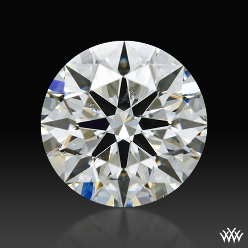 0.905 ct G SI2 A CUT ABOVE® Hearts and Arrows Super Ideal Round Cut Loose Diamond