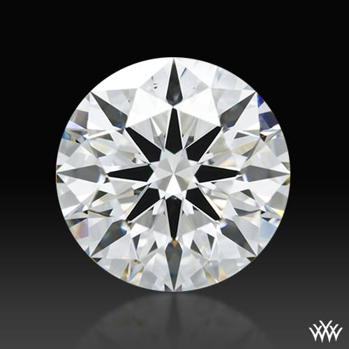 2.103 ct G VS2 A CUT ABOVE® Hearts and Arrows Super Ideal Round Cut Loose Diamond