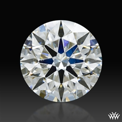 1.111 ct G SI1 A CUT ABOVE® Hearts and Arrows Super Ideal Round Cut Loose Diamond