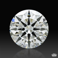 1.315 ct I SI1 A CUT ABOVE® Hearts and Arrows Super Ideal Round Cut Loose Diamond