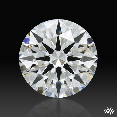0.826 ct F VS2 A CUT ABOVE® Hearts and Arrows Super Ideal Round Cut Loose Diamond