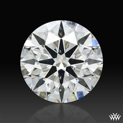 0.632 ct H SI1 A CUT ABOVE® Hearts and Arrows Super Ideal Round Cut Loose Diamond