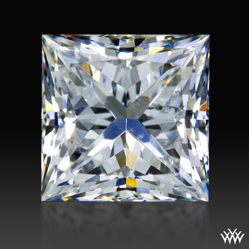 0.751 ct G SI2 A CUT ABOVE® Princess Super Ideal Cut Diamond