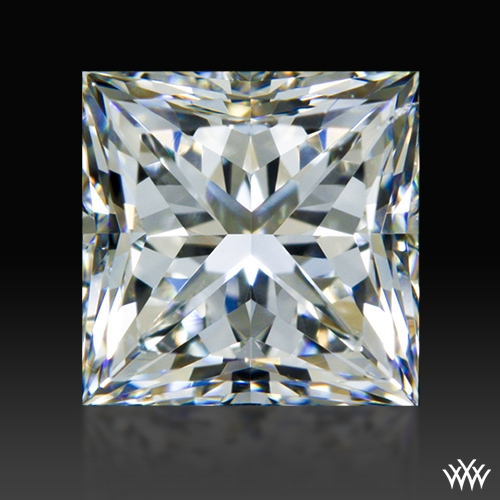 0.944 ct H SI1 A CUT ABOVE® Princess Super Ideal Cut Diamond