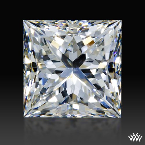 1.047 ct G SI1 A CUT ABOVE® Princess Super Ideal Cut Diamond
