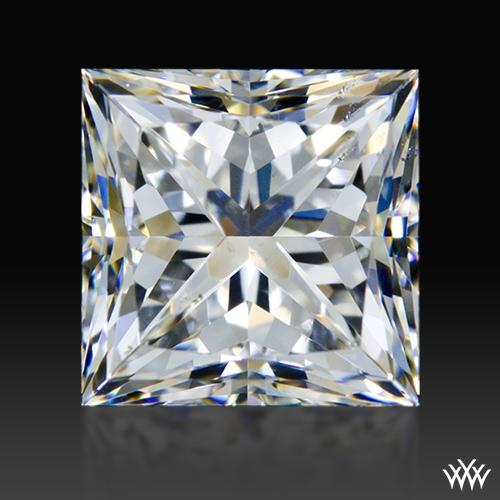 1.105 ct G SI1 A CUT ABOVE® Princess Super Ideal Cut Diamond