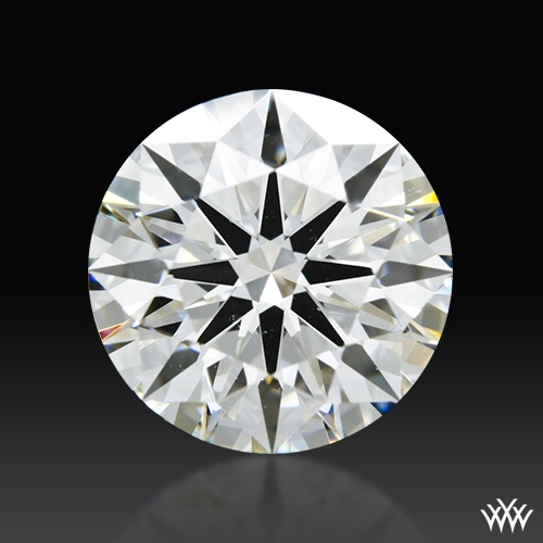 2.858 ct H VS2 A CUT ABOVE® Hearts and Arrows Super Ideal Round Cut Loose Diamond