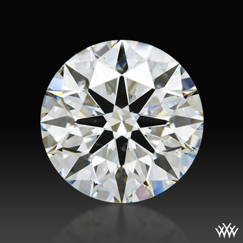 1.828 ct G SI1 A CUT ABOVE® Hearts and Arrows Super Ideal Round Cut Loose Diamond