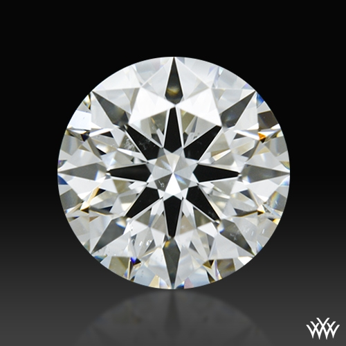 1.405 ct H SI1 A CUT ABOVE® Hearts and Arrows Super Ideal Round Cut Loose Diamond
