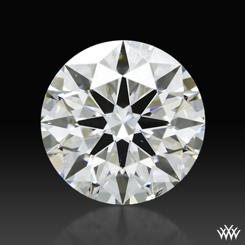 1.381 ct I SI2 A CUT ABOVE® Hearts and Arrows Super Ideal Round Cut Loose Diamond