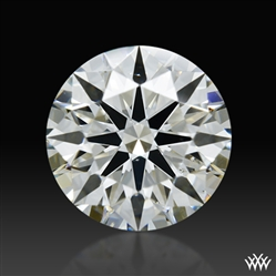 0.92 ct I SI1 A CUT ABOVE® Hearts and Arrows Super Ideal Round Cut Loose Diamond