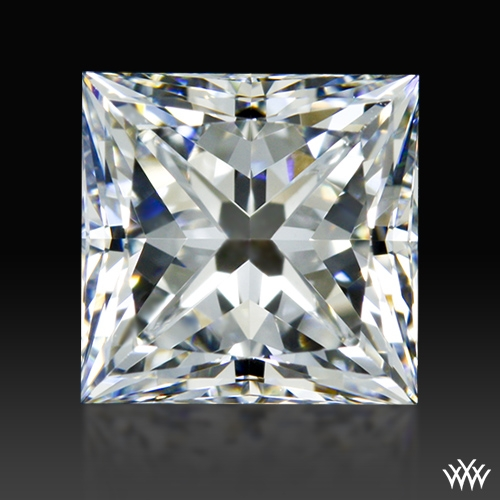 1.237 ct F VS1 A CUT ABOVE® Princess Super Ideal Cut Diamond