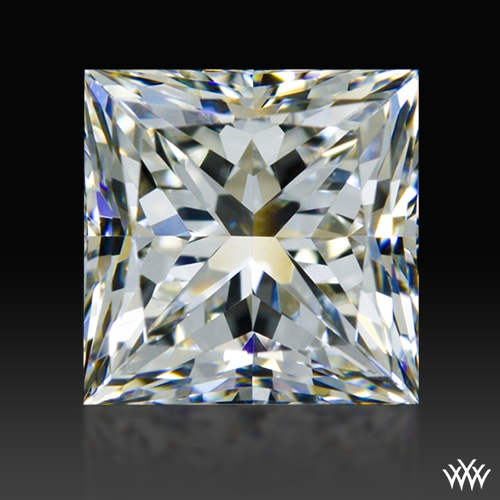 0.907 ct H VS1 A CUT ABOVE® Princess Super Ideal Cut Diamond