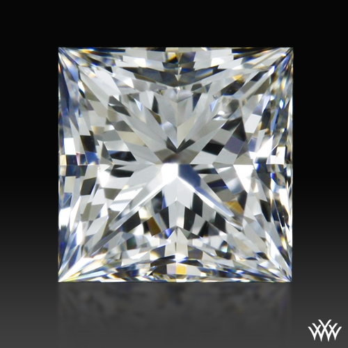 0.606 ct E SI1 A CUT ABOVE® Princess Super Ideal Cut Diamond