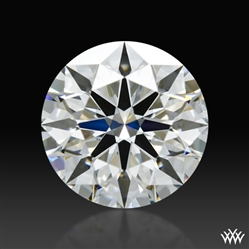 1.377 ct H SI1 A CUT ABOVE® Hearts and Arrows Super Ideal Round Cut Loose Diamond