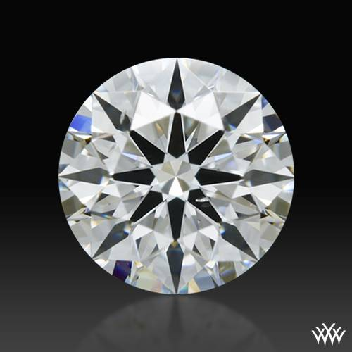 0.568 ct F SI1 A CUT ABOVE® Hearts and Arrows Super Ideal Round Cut Loose Diamond