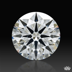 0.537 ct F SI1 A CUT ABOVE® Hearts and Arrows Super Ideal Round Cut Loose Diamond