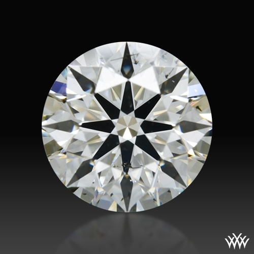 0.718 ct J SI2 A CUT ABOVE® Hearts and Arrows Super Ideal Round Cut Loose Diamond
