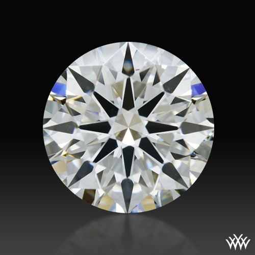 0.862 ct G VS1 A CUT ABOVE® Hearts and Arrows Super Ideal Round Cut Loose Diamond