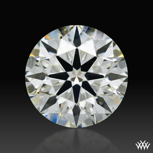 0.912 ct J VS2 A CUT ABOVE® Hearts and Arrows Super Ideal Round Cut Loose Diamond