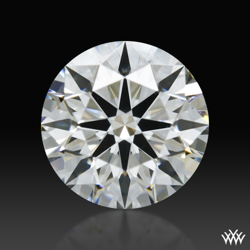 0.506 ct G VS2 A CUT ABOVE® Hearts and Arrows Super Ideal Round Cut Loose Diamond