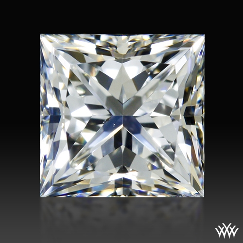 1.008 ct F SI1 A CUT ABOVE® Princess Super Ideal Cut Diamond