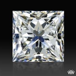 1.008 ct F SI1 A CUT ABOVE® Princess Super Ideal Cut Diamond