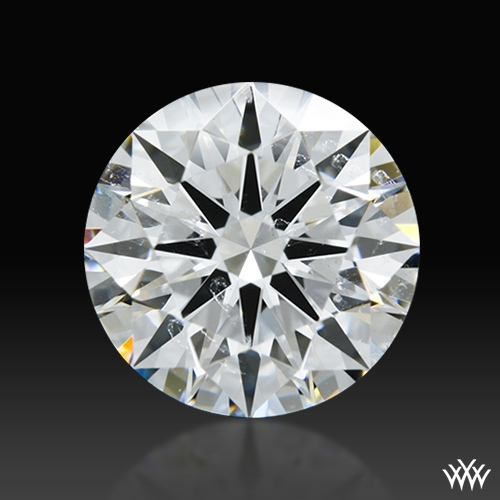 1.662 ct F SI1 A CUT ABOVE® Hearts and Arrows Super Ideal Round Cut Loose Diamond