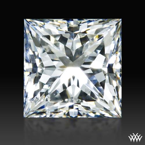 0.617 ct H SI2 A CUT ABOVE® Princess Super Ideal Cut Diamond
