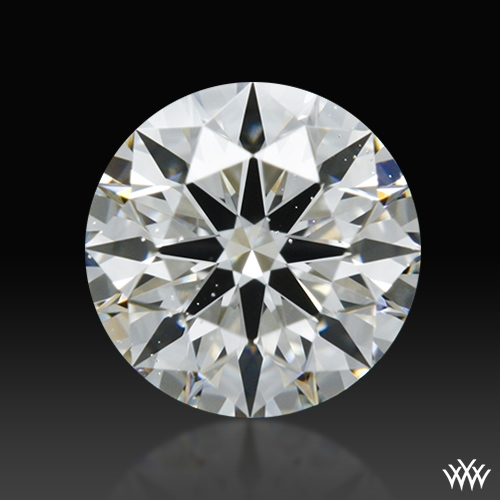0.553 ct H SI1 A CUT ABOVE® Hearts and Arrows Super Ideal Round Cut Loose Diamond
