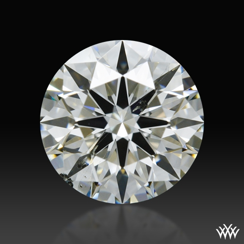 0.585 ct I SI1 A CUT ABOVE® Hearts and Arrows Super Ideal Round Cut Loose Diamond