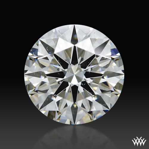 1.023 ct I SI1 A CUT ABOVE® Hearts and Arrows Super Ideal Round Cut Loose Diamond