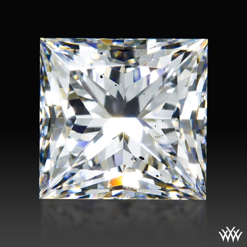 0.948 ct G SI1 A CUT ABOVE® Princess Super Ideal Cut Diamond