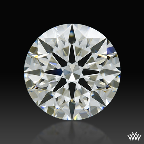 1.104 ct I VS1 A CUT ABOVE® Hearts and Arrows Super Ideal Round Cut Loose Diamond
