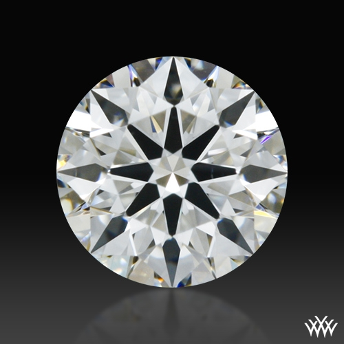 0.408 ct F VS1 A CUT ABOVE® Hearts and Arrows Super Ideal Round Cut Loose Diamond